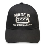20th Anniversary. Made In 1996 All Original Parts Hat Cap