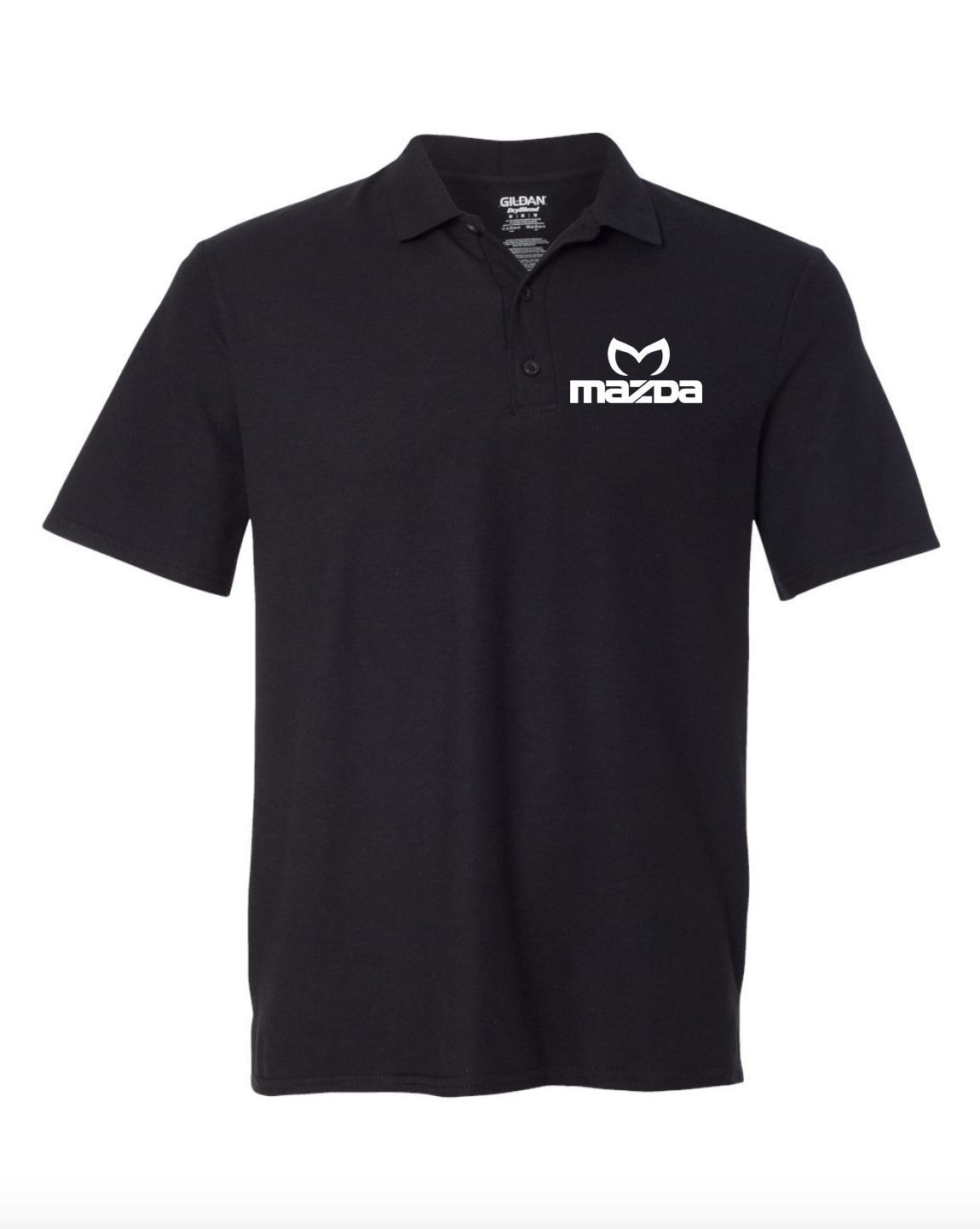 Mazda Motor Black POLO T-Shirt