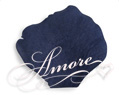 Navy Blue Silk Rose Petals Wedding 1000