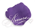 Purple Plum Silk Wedding Rose Petals Bulk 10000
