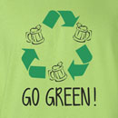 Saint Patrick's Day Go Green Funny T Shirt