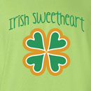 Saint Patrick's Day Irish Sweetheart T Shirt