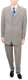 Slate Business Suit - Signature Collection 3 button