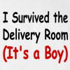 I Survived the Delivery Room It's a Boy Daddy T Shirt