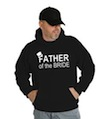Father of the Bride Wedding Hooded Sweatshirt