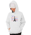 Bonjour Paris Hooded Sweatshirt