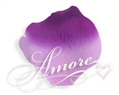 Grape Purple and Lavender Silk Rose Petals Wedding Bulk 10000