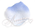 Tropical Blu Cornflower Silk Rose Petals Wedding 600