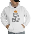 Halloween Keep Calm And Give Me Candy Hooded Sweatshirt