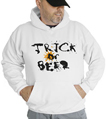Halloween Trick Or Beer Hooded Sweatshirt