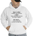 Goal Of A Bitch Hooded Sweatshirt