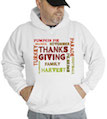 Thanksgiving Holiday Hooded Sweatshirt