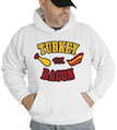 Turkey vs. Bacon Thanksgiving Hooded Sweatshirt