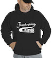 Thanksgiving Eaters Hooded Sweatshirt
