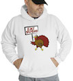 Eat Sushi Thanksgiving Hooded Sweatshirt