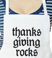 Thanksgiving Rocks Apron
