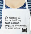 I'm Thankful Thanksgiving Apron