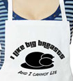 I Like Big Breasts Thanksgiving Apron