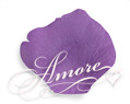 Violet Wild Orchid Silk Wedding Rose Petals 1000