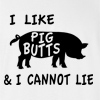 I Like Pig Butts and I Cannot Lie T-shirt Funny College Bacon Tee