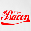 Enjoy Bacon T-shirt Funny College Bacon Tee
