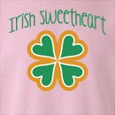 Irish Sweetheart St. Patrick's Day Crew Neck Sweatshirt