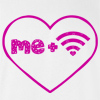 Love Me + WiFi T-shirt Funny College Tee