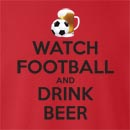 Watch Football And Drink Beer  Crew Neck Sweatshirt