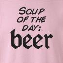 Soup Of The Day: Beer  Crew Neck Sweatshirt