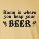 Home Is Where You Keep Your Beer Long Sleeve T-Shirt