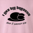 I Like Big Breasts Thanksgiving Crew Neck Sweatshirt