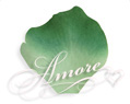 Green Clover Silk Rose Petals Wedding 1000