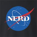 NASA Nerd Crew Neck Sweatshirt