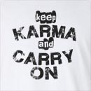 Keep Karma and Carry On Long Sleeve T-Shirt