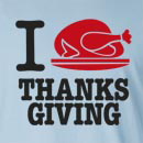 I Turkey Thanksgiving Long Sleeve T-Shirt