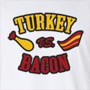 Turkey vs. Bacon Long Sleeve T-Shirt