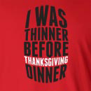 I Was Thinner Before Long Sleeve T-Shirt