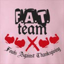 F.A.T. Team Fowls Against  Crew Neck Sweatshirt