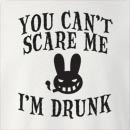 Halloween You Can't Scare Me I'm Drunk Crew Neck Sweatshirt