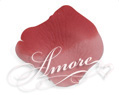 Rio Red Pink and Red Silk Rose Petals Wedding 1000