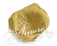 Gold Silk Rose Petals Wedding 1000