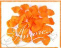 Orange Popsicle Tangerine Silk Rose Petals Wedding 1000
