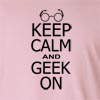 Keep Calm and Geek On Long Sleeve T-Shirt