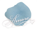 Pool Blue Aqua Silk Rose Petals Wedding 4000