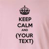 Keep Calm And (Your Text) Long Sleeve T-Shirt