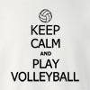 Keep Calm and Play Volleyball Crew Neck Sweatshirt
