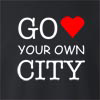 Go Love Your Own City Crew Neck Sweatshirt