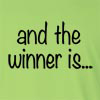 and the winner is... Long Sleeve T-Shirt