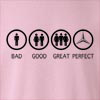 Bad Good Great Perfect Life - Mercedes Crew Neck Sweatshirt
