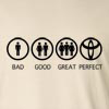 Bad Good Great Perfect Life - Nissan Long Sleeve T-Shirt